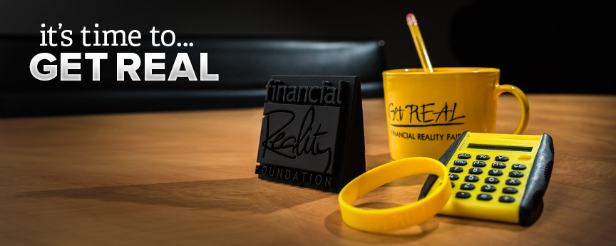 Get real Finanacial picture of Get Real promotional items.